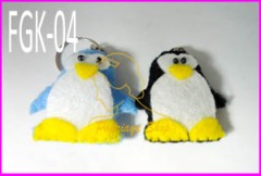 gantungan kunci penguin